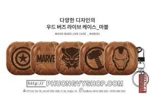 Hộp đựng tai nghe Galaxy Buds Live - Marvel (Korea)